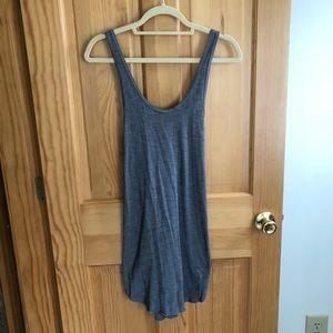 Lululemon Gray Coverup Dress